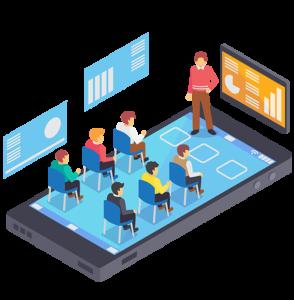 E-learning platform in Cloud Distance learning (FAD)